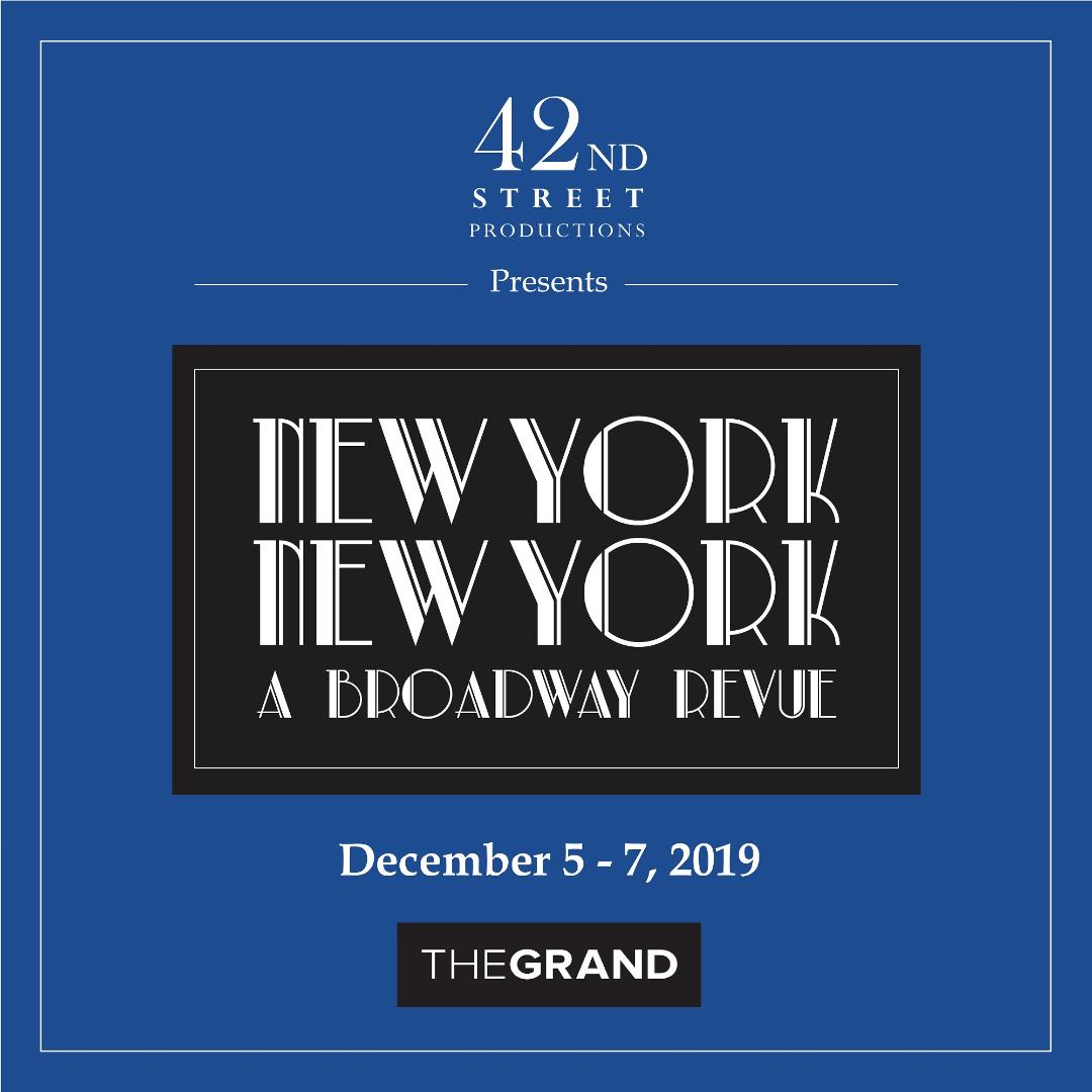 New York New York - A Broadway Revue