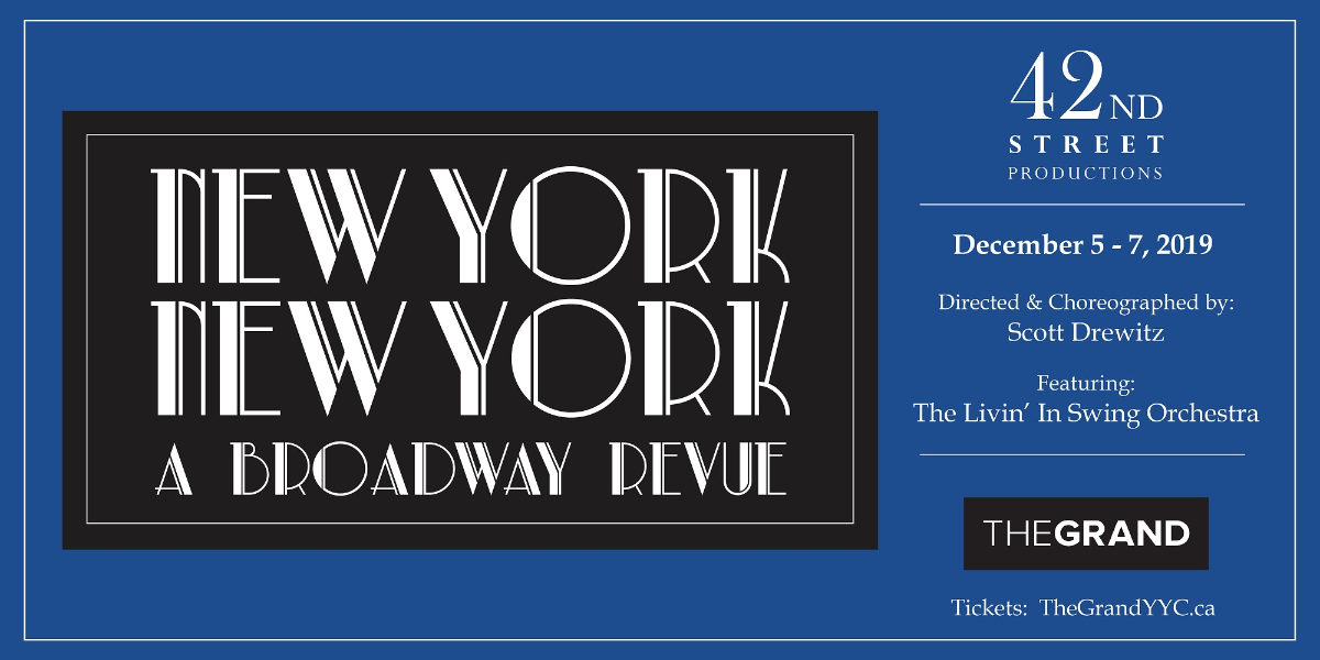 New York New York - A Broadway Revue