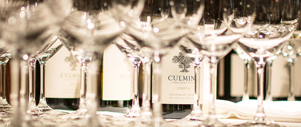 The Cellar by Araxi Intimate Wine Dinner Series Culmina Family Estate Winery, BC