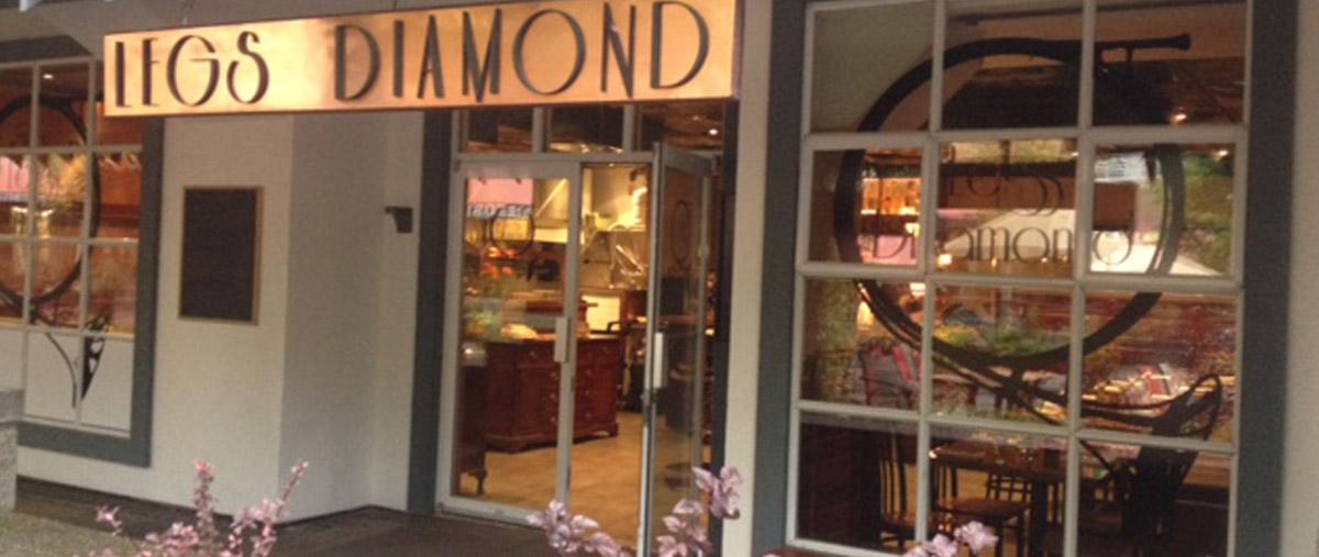 Legs Diamond: Intimate evening at Legs Diamond Supper club Nov 15