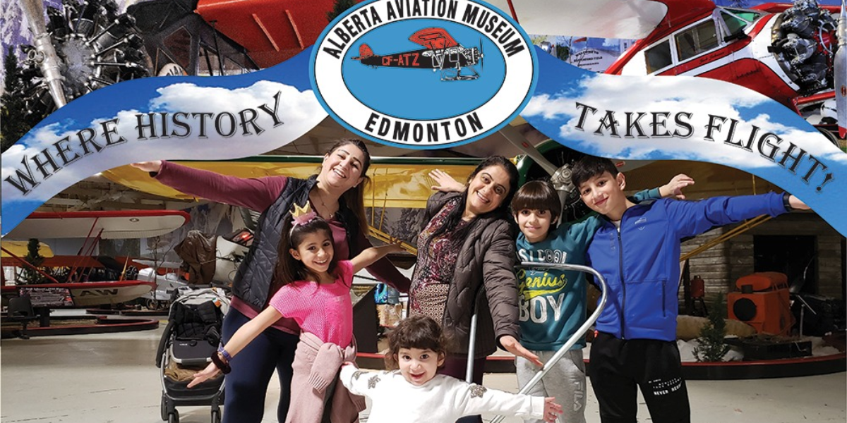 Oct 25 - Alberta Aviation Museum Admission