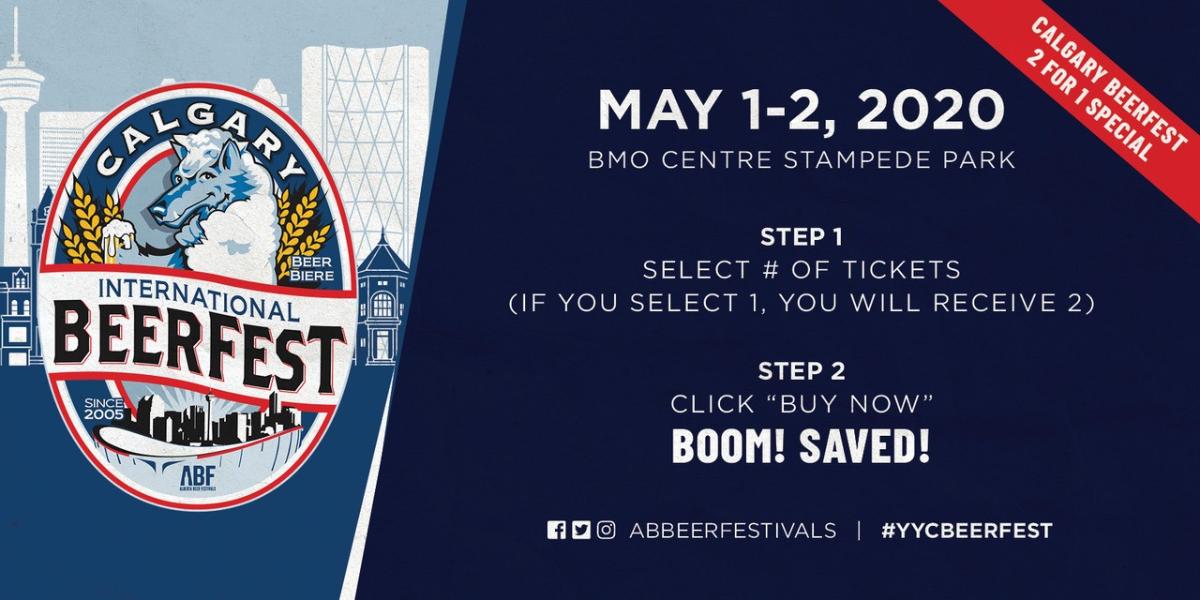 *2020 Calgary International Beerfest Promotions*