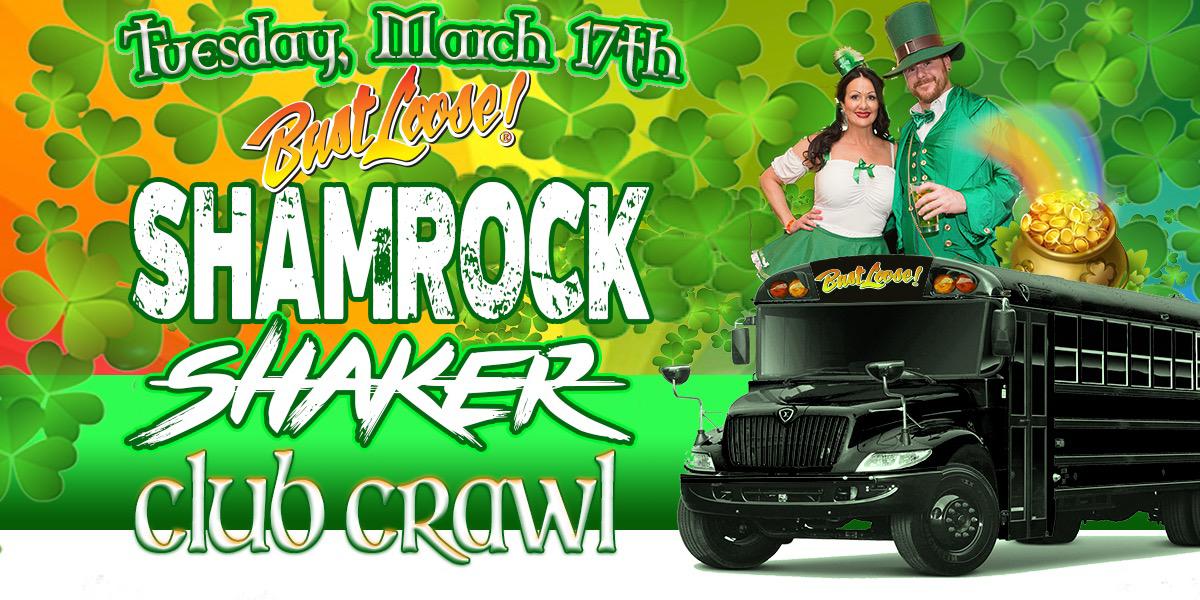 St. Patrick's Day Shamrock Shaker Pub Crawl