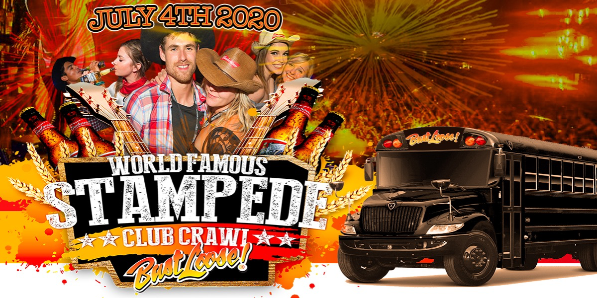 World Famous Stampede Pub Crawl 2020