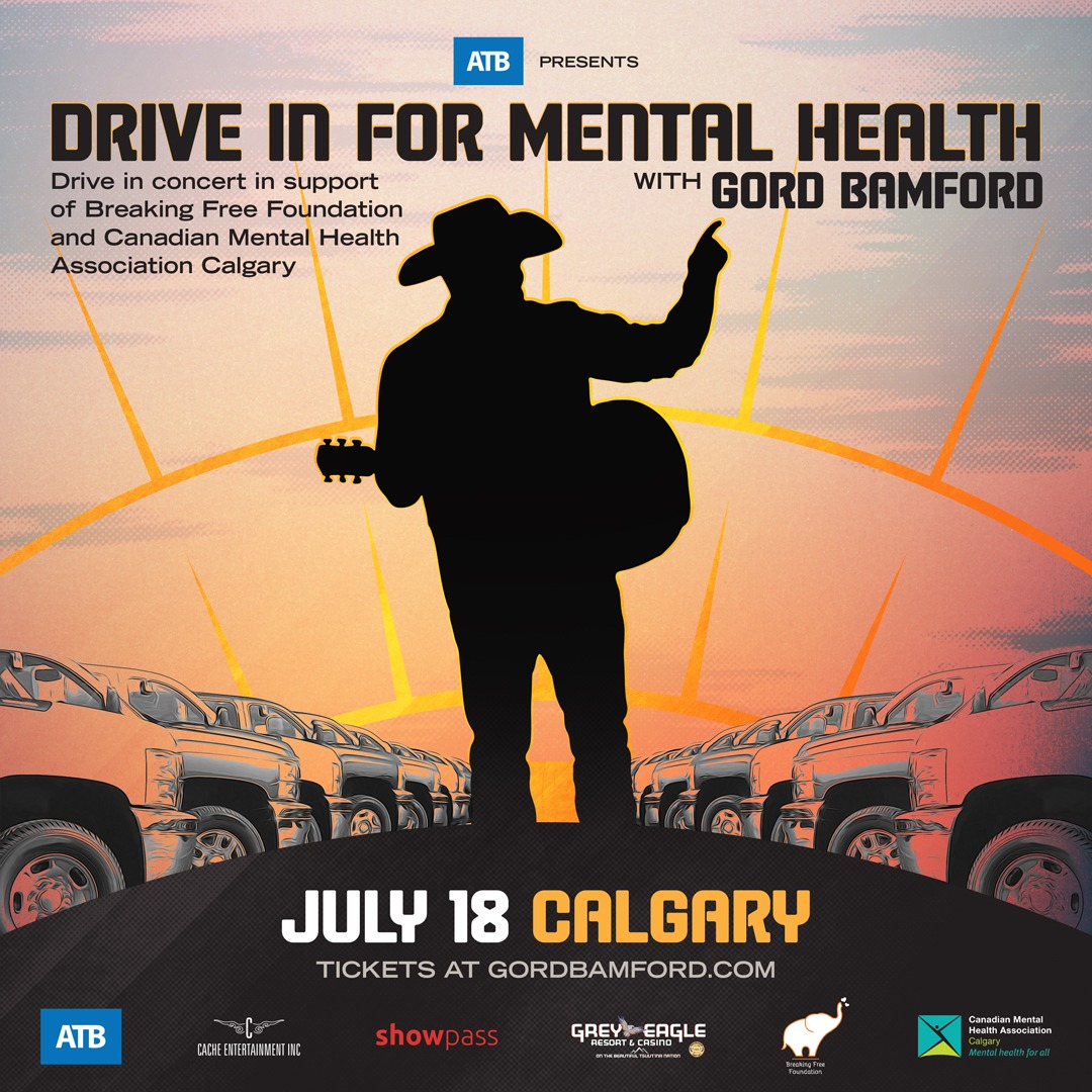 ATB presents: Drive In For Mental Health with Gord Bamford - Calgary