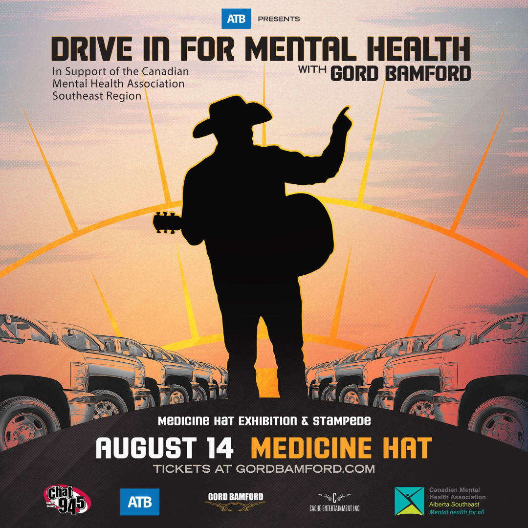 ATB presents: Drive In For Mental Health with Gord Bamford -