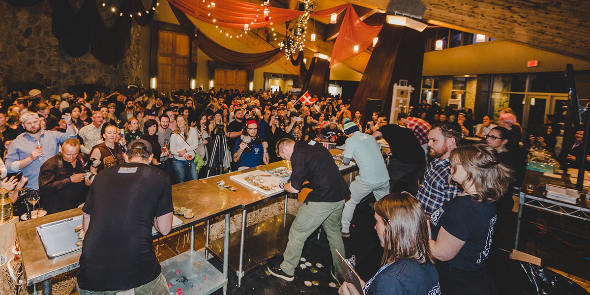 Bearfoot Bistro World Oyster Invitational & Bloody Caesar Battle