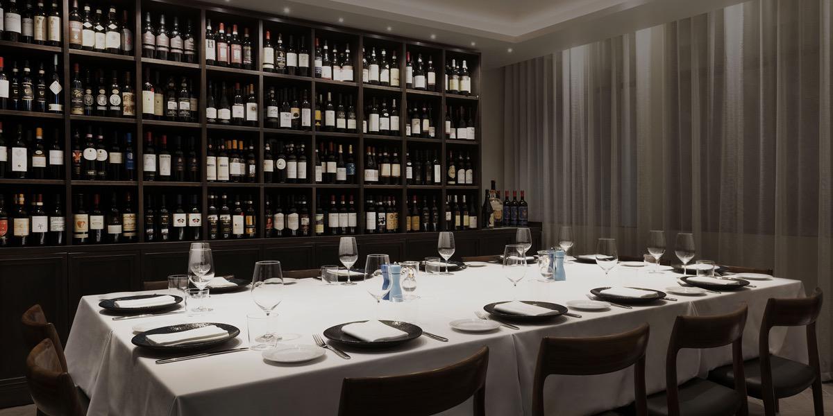 Il Caminetto - Antinori Wine Dinner