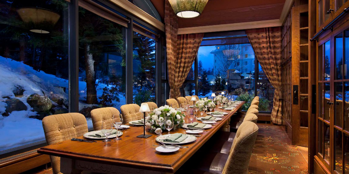 Fairmont Chateau Whistler - Quails' Gate Wine Dinner