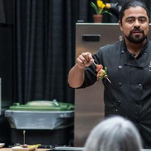 Culinary Stage: Chef Luis Valenzuela