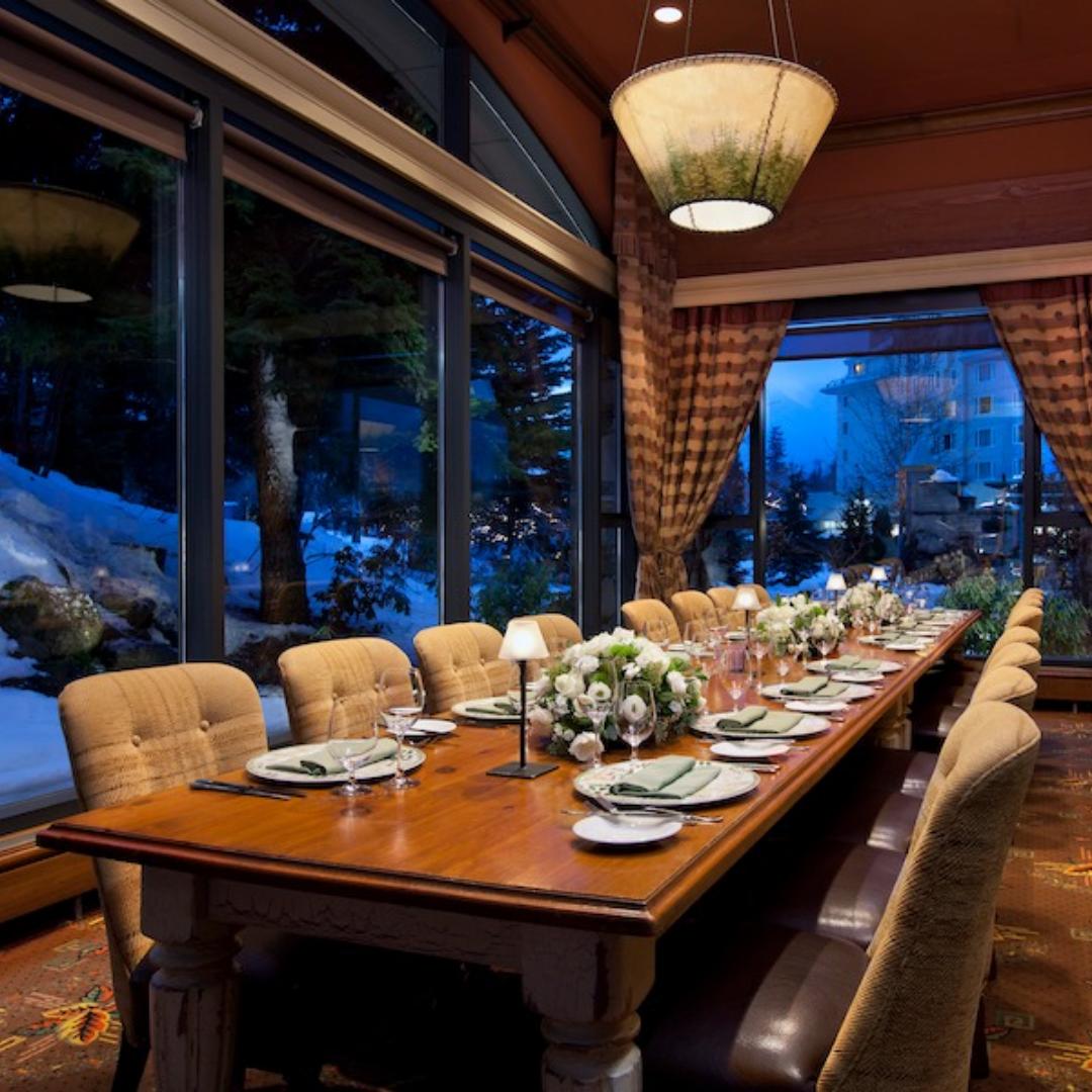 Fairmont Chateau Whistler – Siren's Call Wine Maker Dinner