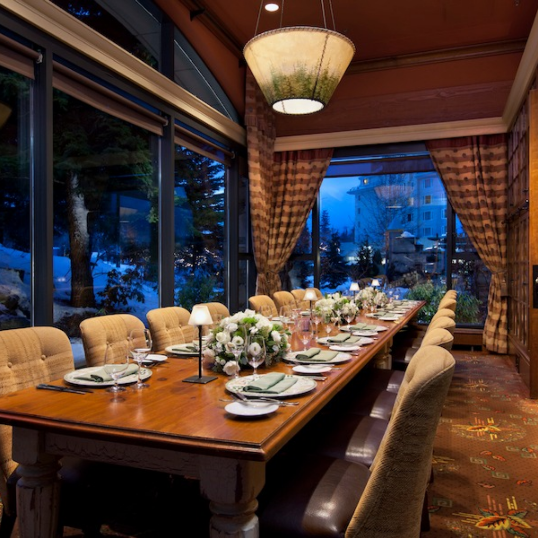 Fairmont Chateau Whistler – Painted Rock Wine Dinner