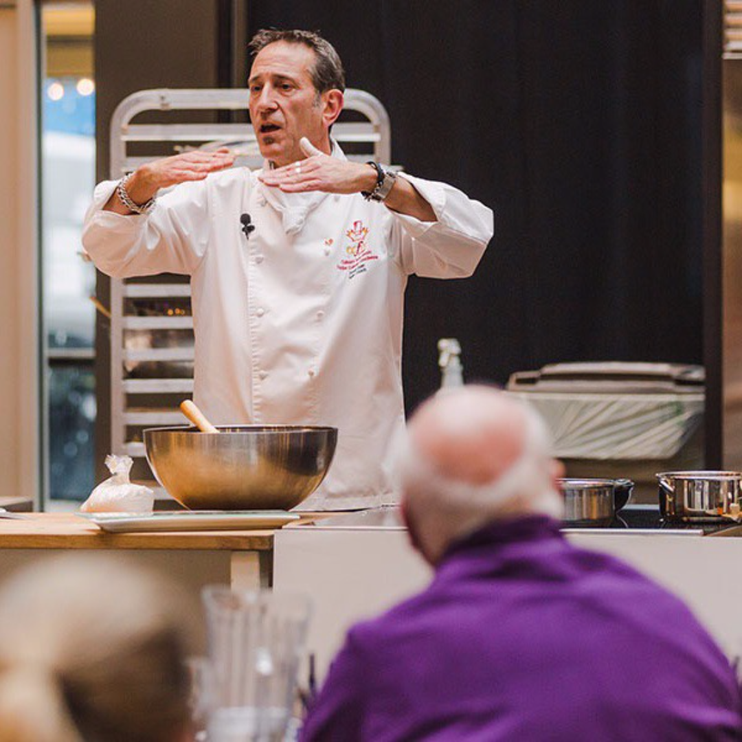 Culinary Stage: Culinary Olympic Champ Chef Dave Ryan with The Dalmore
