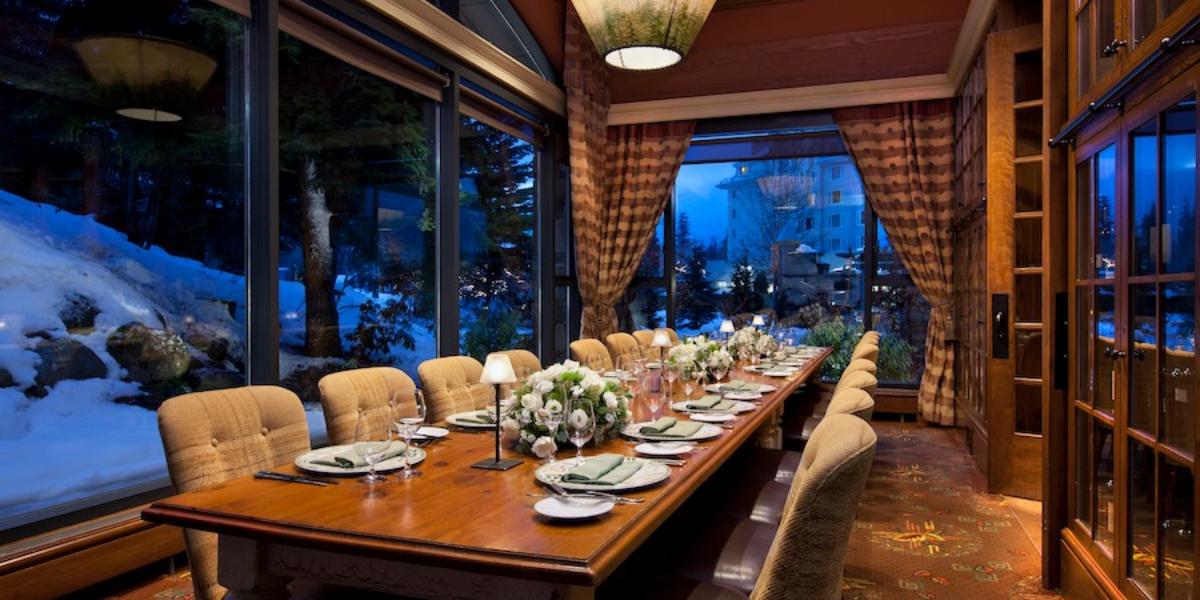 Fairmont Chateau Whistler – Quails' Gate Wine Dinner