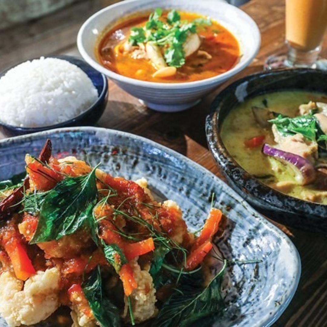 Paired Dinner: Barn Nork Thai Cuisine with Lakeside Cellars