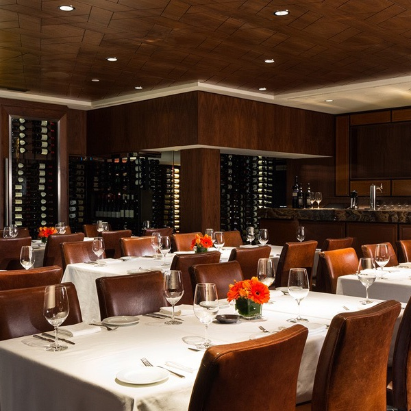 Dinner: Il Caminetto and Antinori Wine Dinner in the Cellar by Araxi