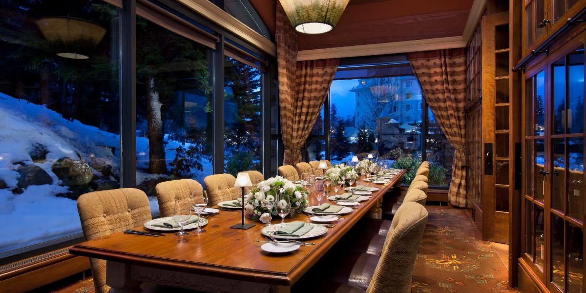 Dinner: Fairmont Chateau Whistler – Painted Rock Wine Dinner