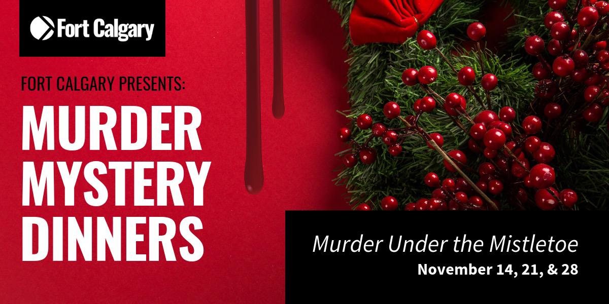 Murder Mystery Dinner: Murder Under the Mistletoe