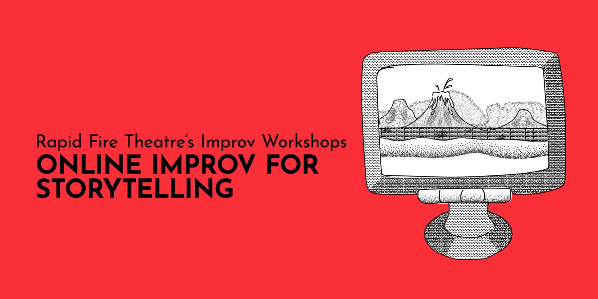 Online Improv for Storytelling