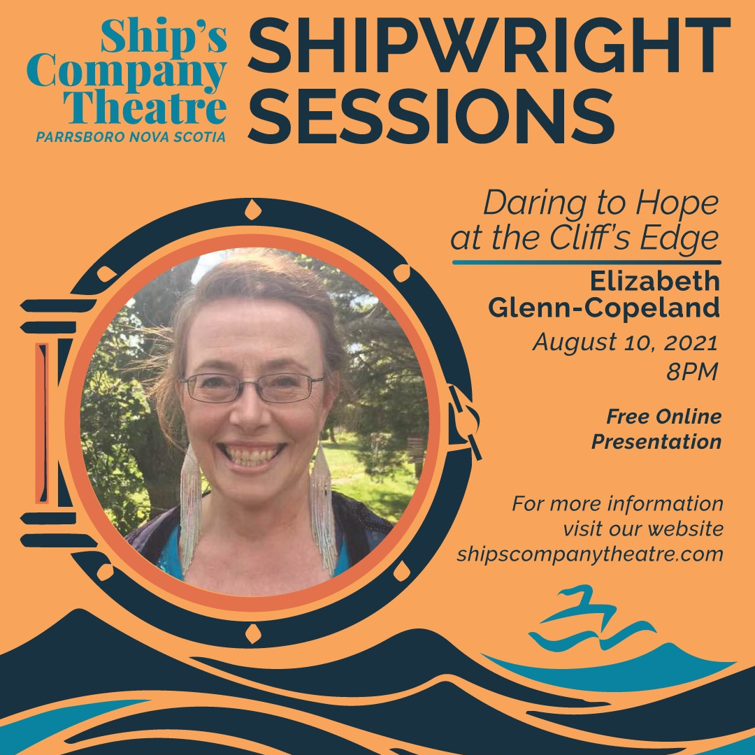 Daring to Hope at the Cliff's Edge - Elizabeth Glenn-Copeland