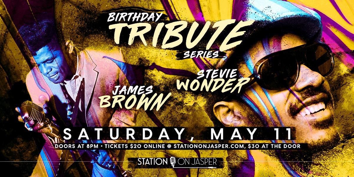 Stevie Wonder & James Brown Tribute