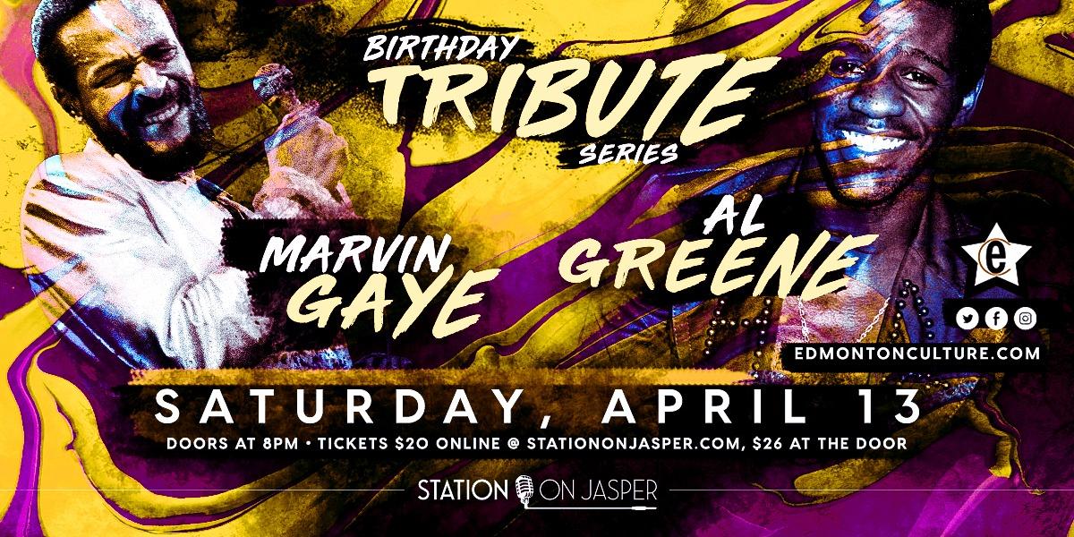 Al Greene & Marvin Gaye Tribute