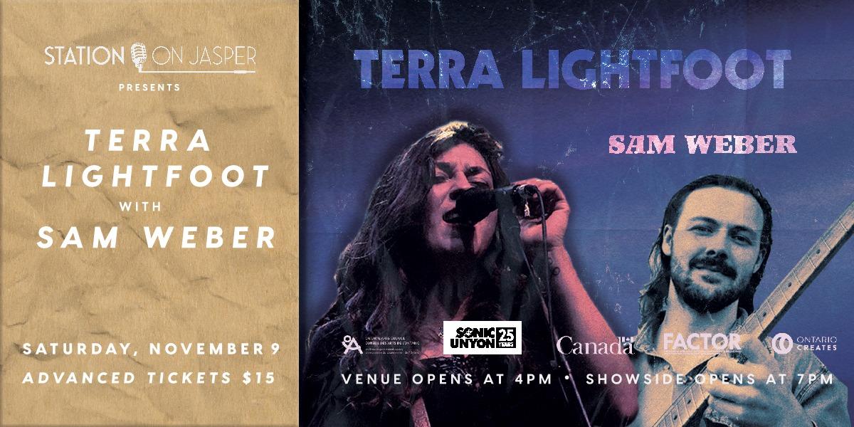 Terra Lightfoot with Sam Weber
