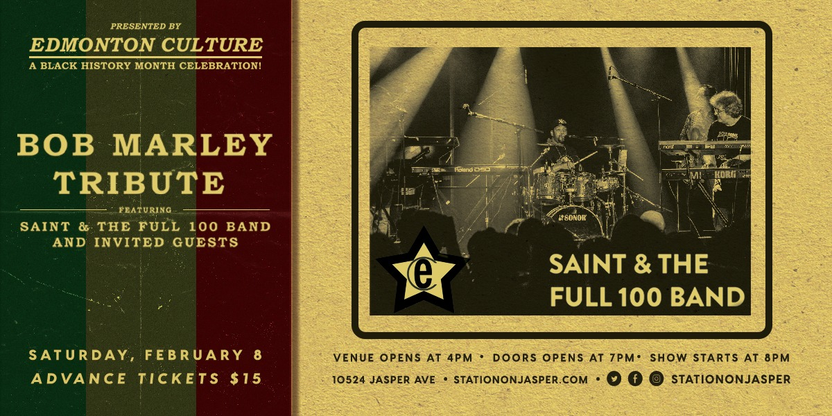 Bob Marley Tribute feat. Saint & the Full 100 Band and Guests