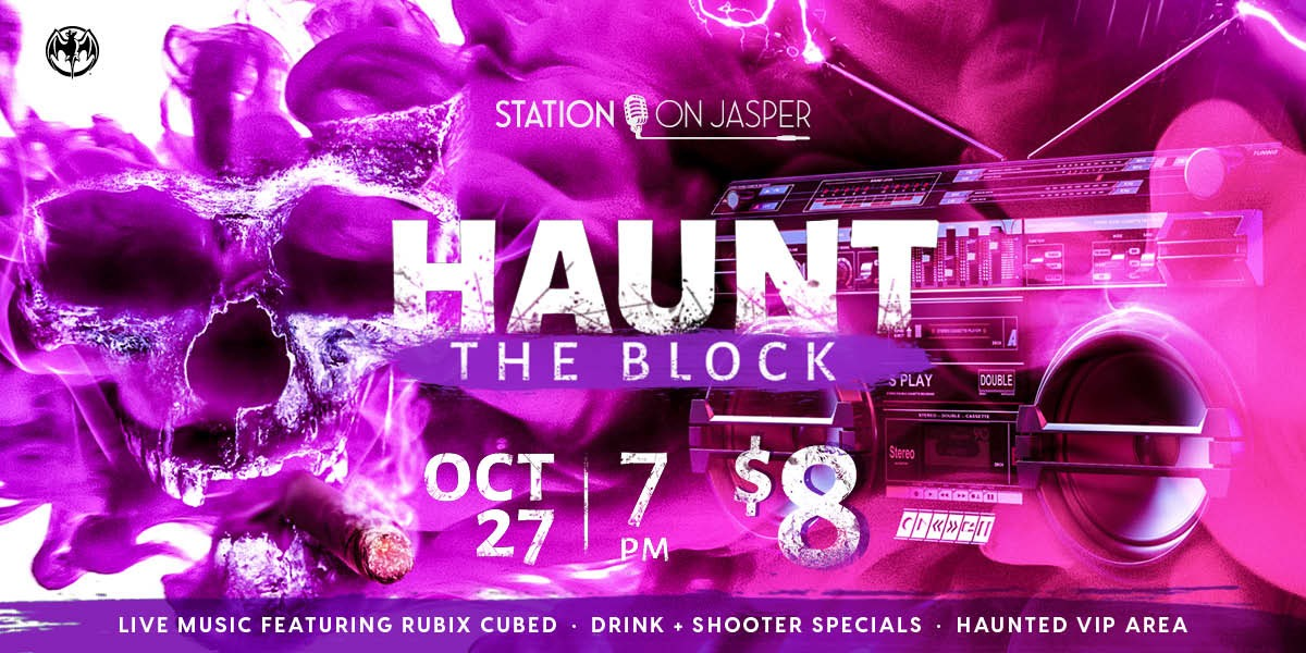 Haunt the Block, A Retro Horror Party