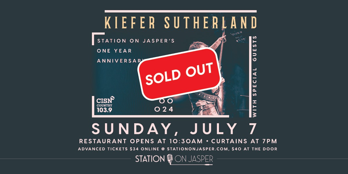 Kiefer Sutherland with Very Special Guests