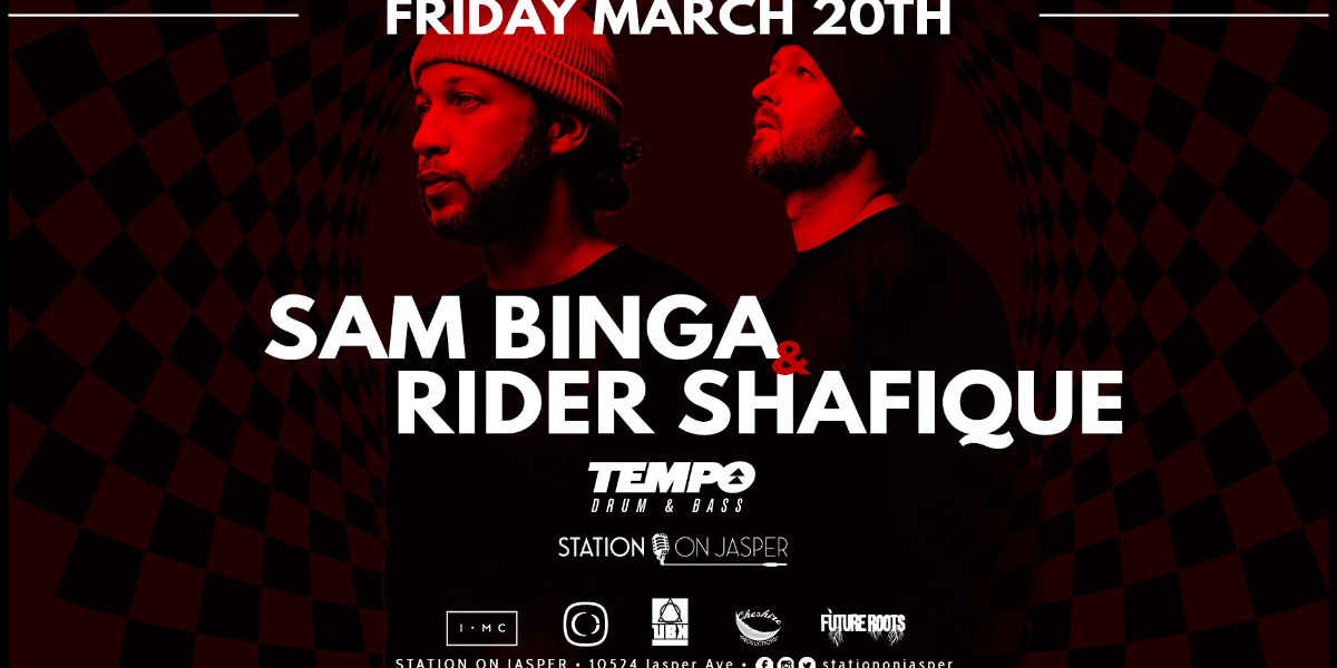 Sam Binga & Rider Shafique - 2020 North American Tour