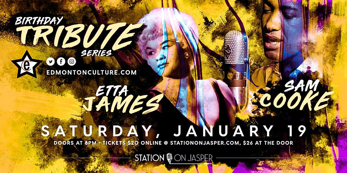 Etta James & Sam Cooke - Tribute Series