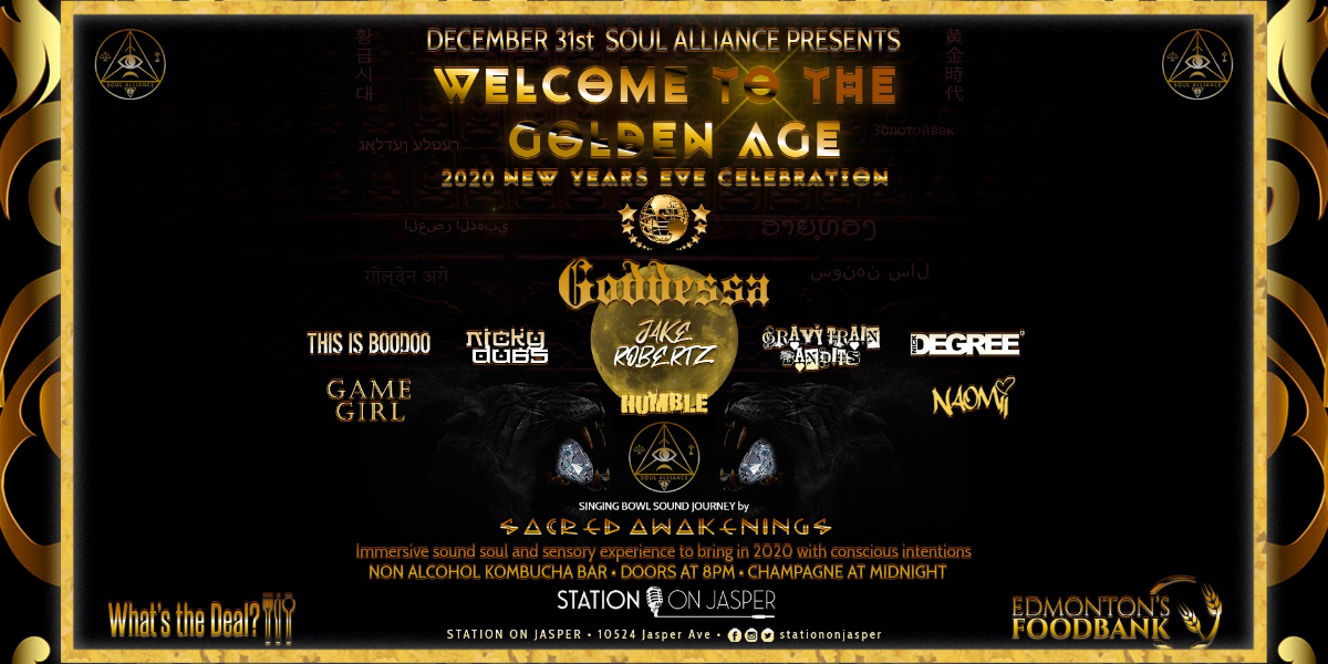 WELCOME TO THE GOLDEN AGE feat. GODDESSA & Friends