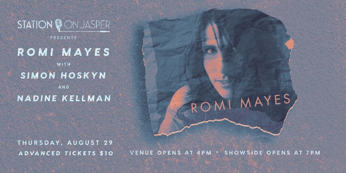 Romi Mayes with Simon Hoskyn & Nadine Kkellman