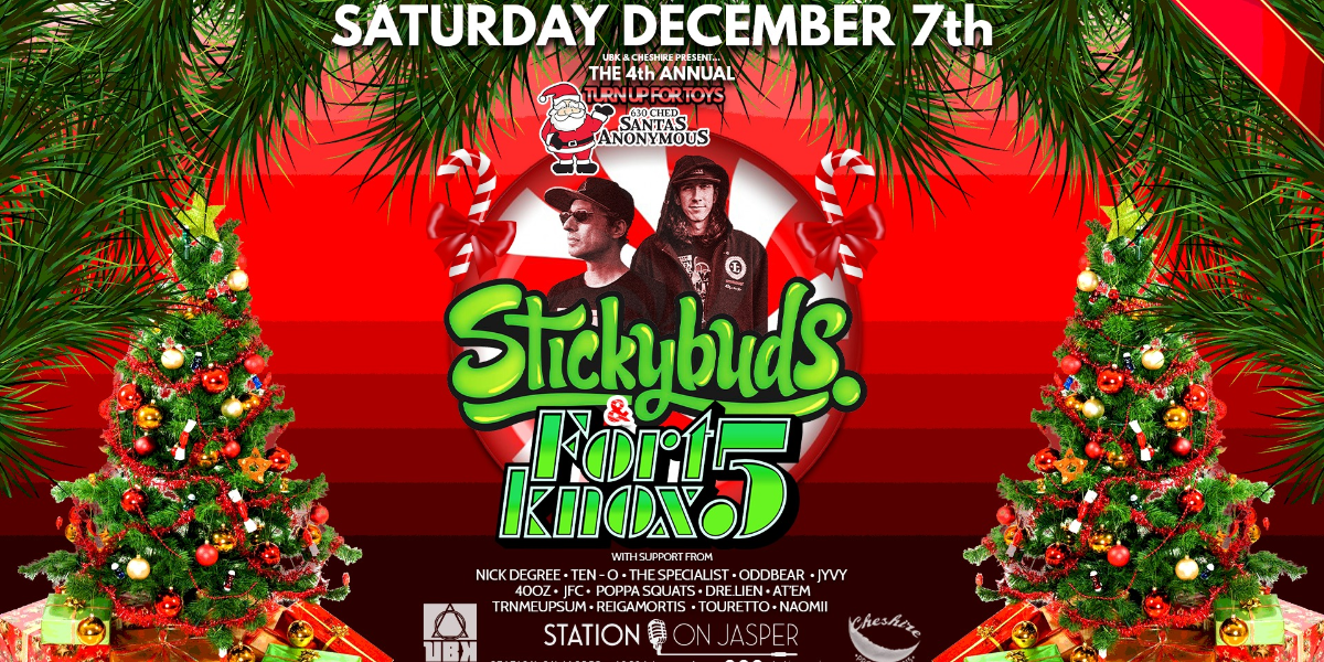 STICKYBUDS & FORT KNOX 5 - Turn Up For Toys