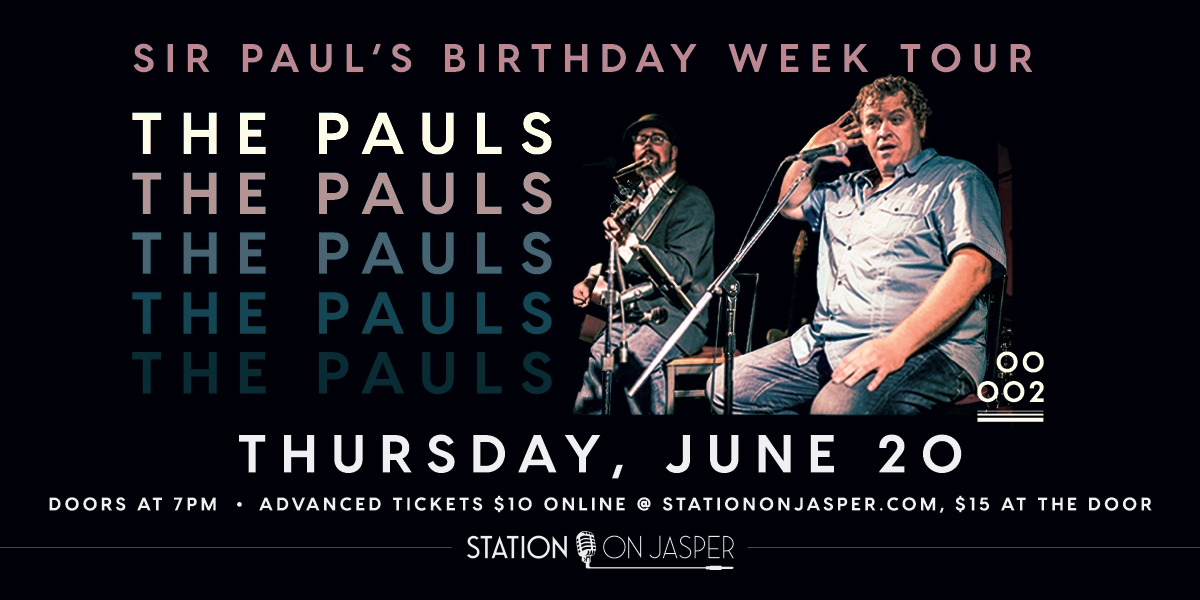 The Pauls - celebrating the songs of Paul McCartney and Paul Simon