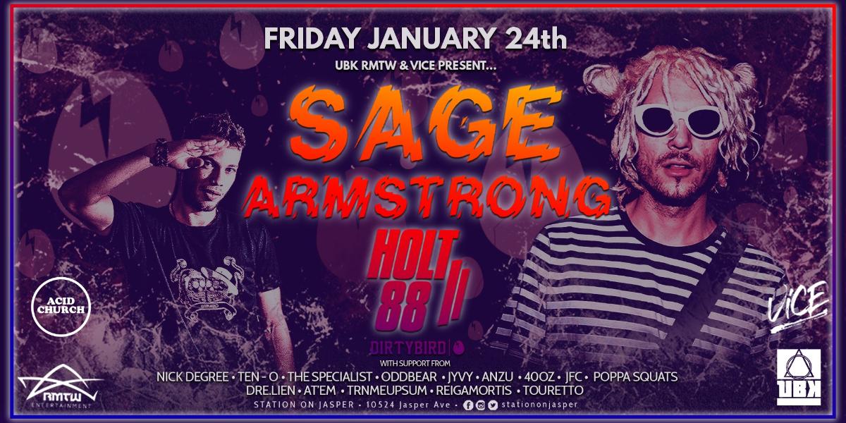 SAGE ARMSTRONG & HOLT 88