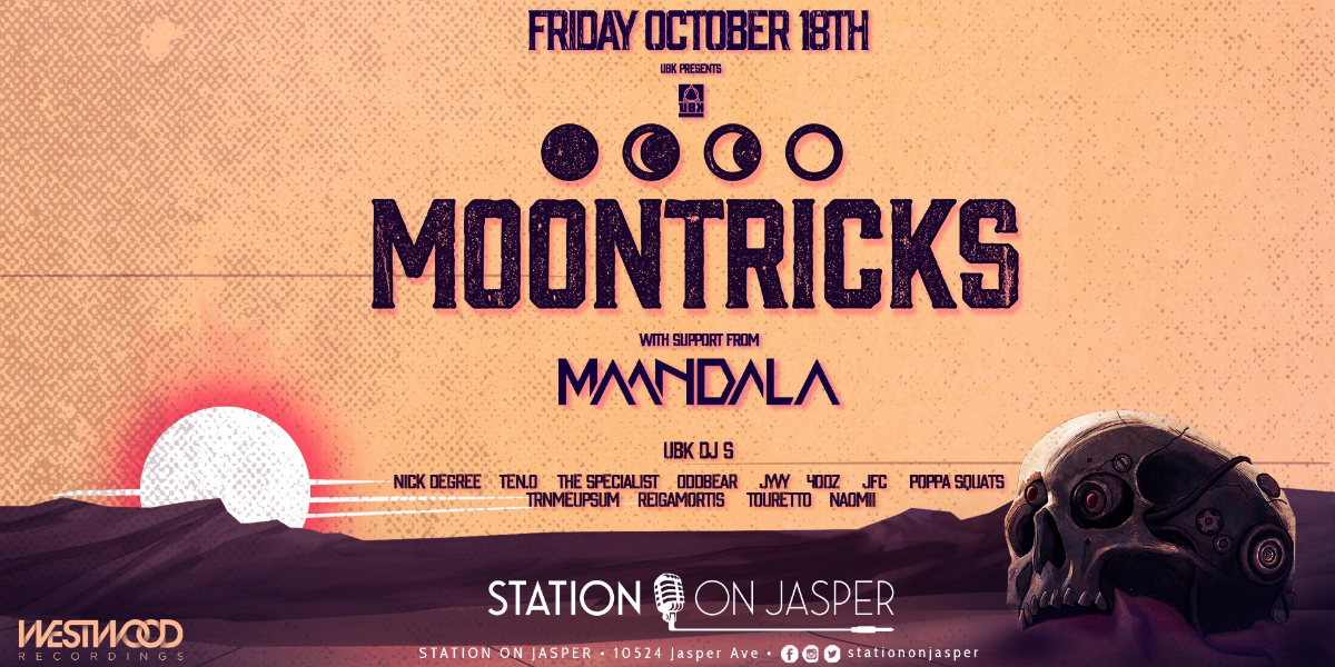 MOONTRICKS w/ support from Maandala