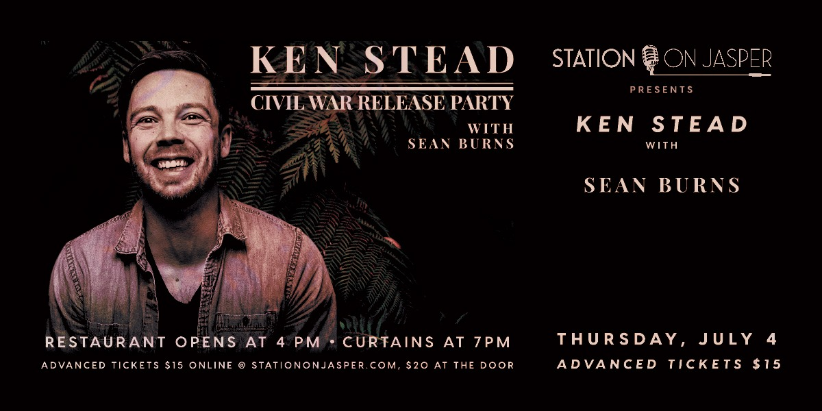 Ken Stead Civil War Release Party w/ Sean Burns