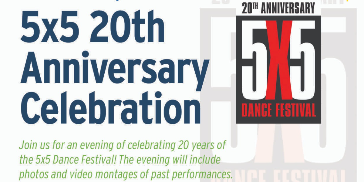 5x5 20th Anniversary Celebration