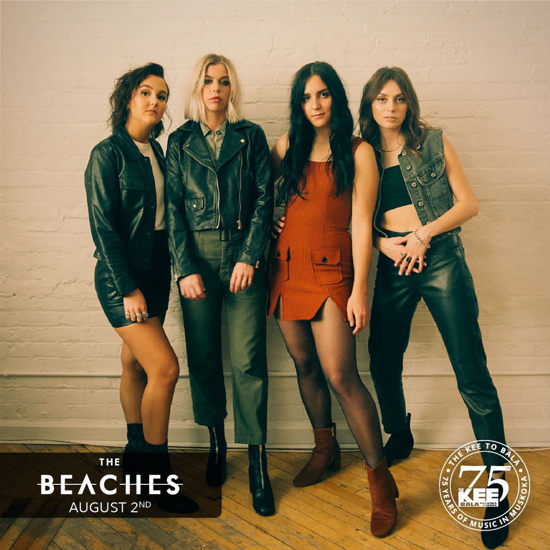 The Beaches - Sunday August 2nd