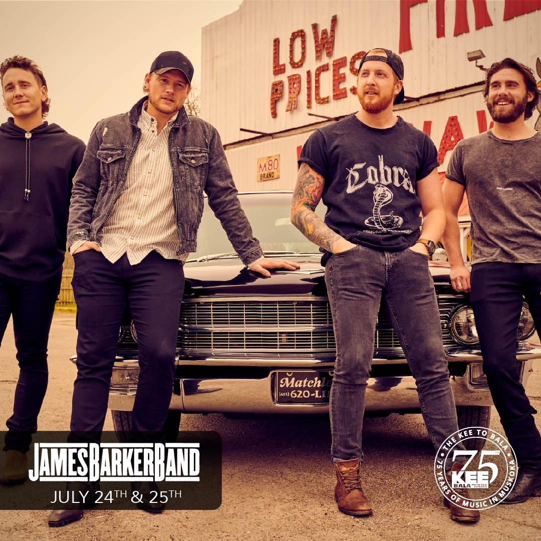 James Barker Band - Friday July 24th