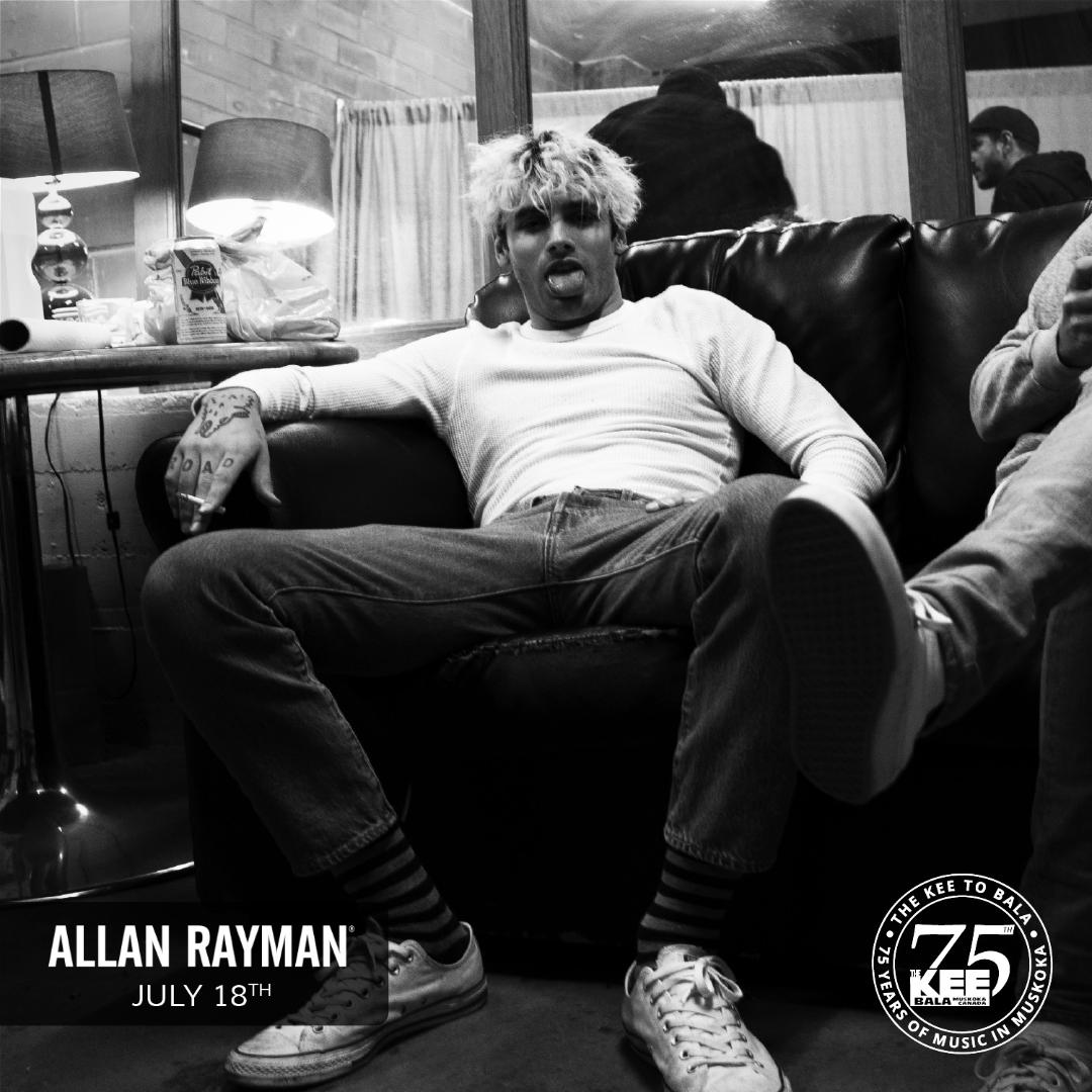 Allan Rayman - Saturday July 18th