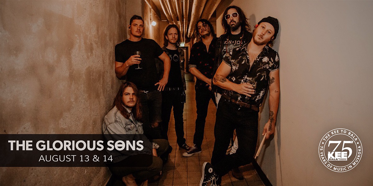 The Glorious Sons - Thursday August 13th
