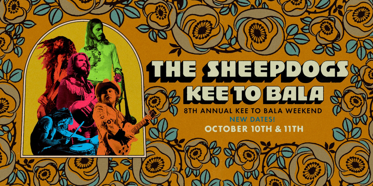 The Sheepdogs - Saturday October 10th