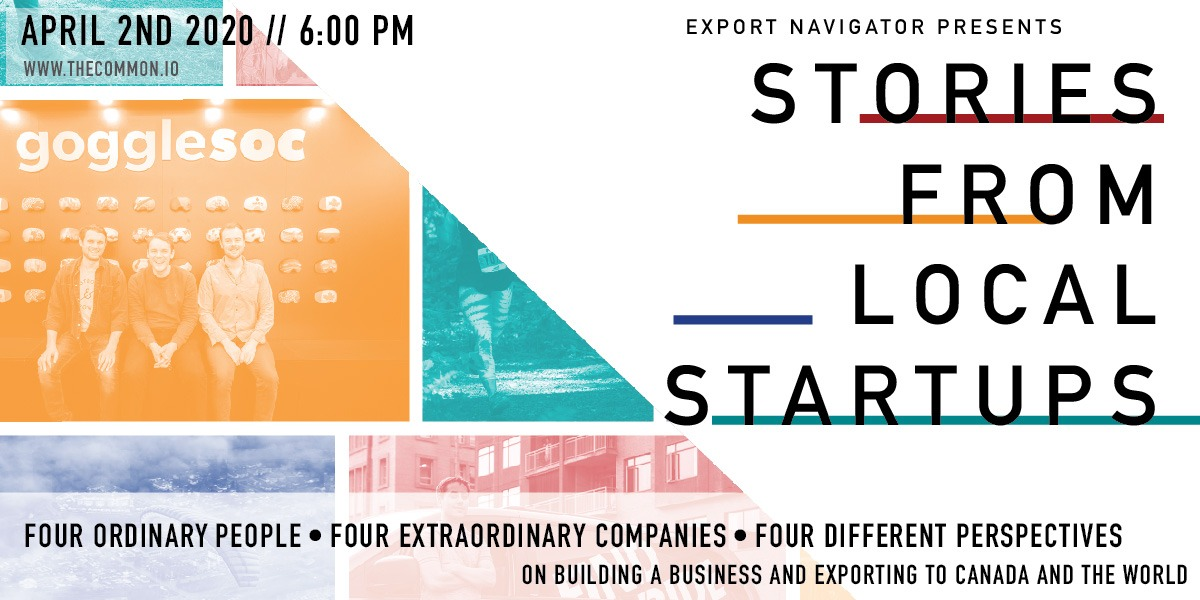 ***POSTPONED*** Stories From Local Startups // presented by 'Export Navigator'