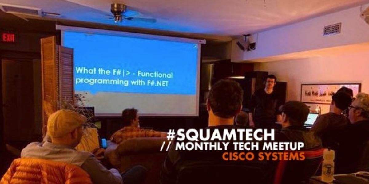 #SQUAMTECH - January Meetup