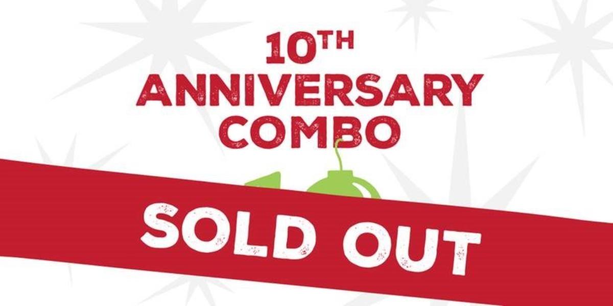10th Anniversary Combo