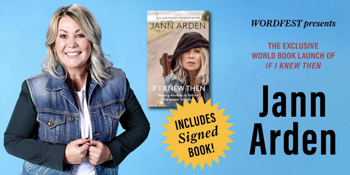 Wordfest Presents Jann Arden