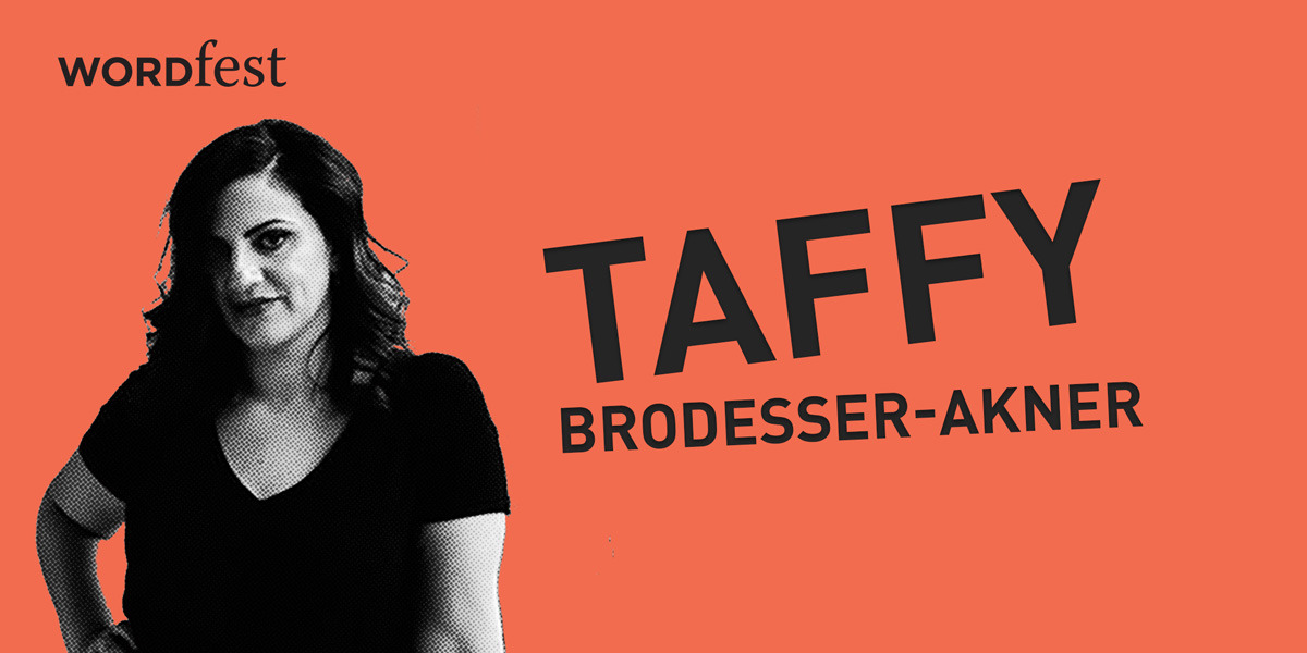 How to Write About Anyone with Taffy Brodesser-Akner